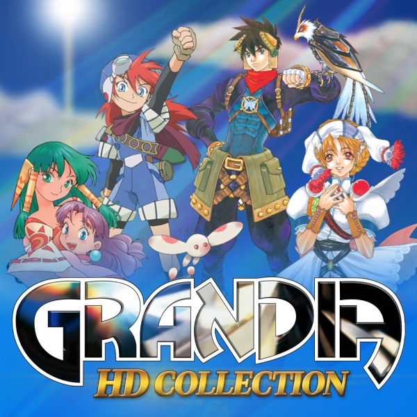 Grandia HD Collection, Covermotiv/Artwork