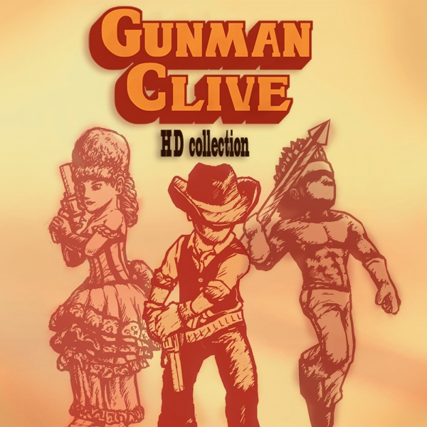 Gunman Clive HD Collection, Covermotiv/Artwork