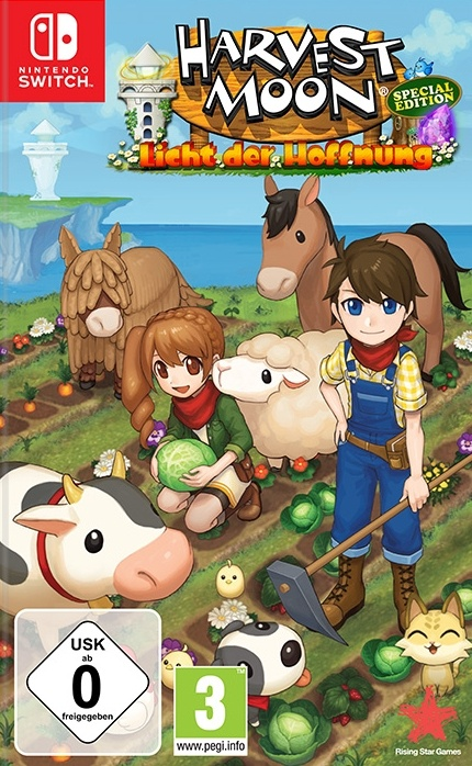 Harvest Moon: Licht der Hoffnung - Special Edition, Covermotiv/Artwork