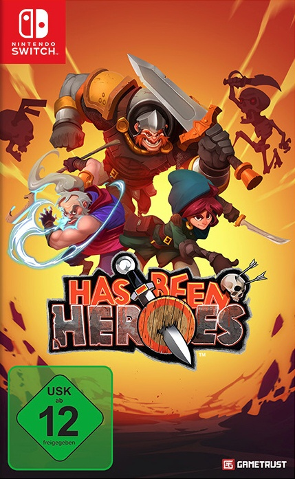 Has-Been Heroes, Covermotiv