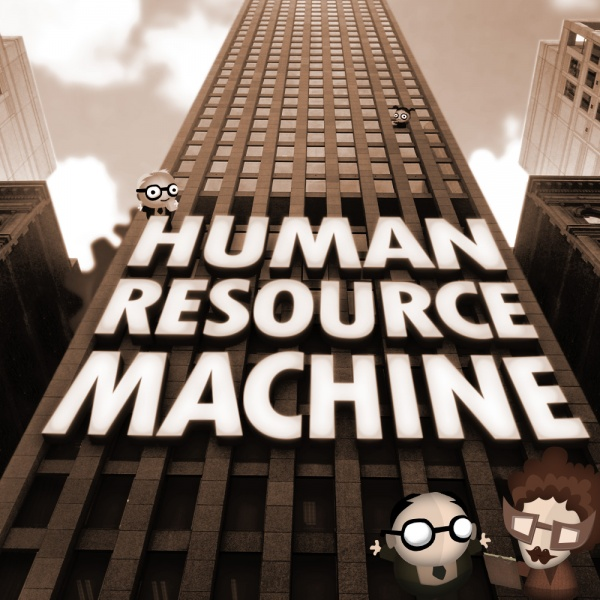 Human Resource Machine, Covermotiv
