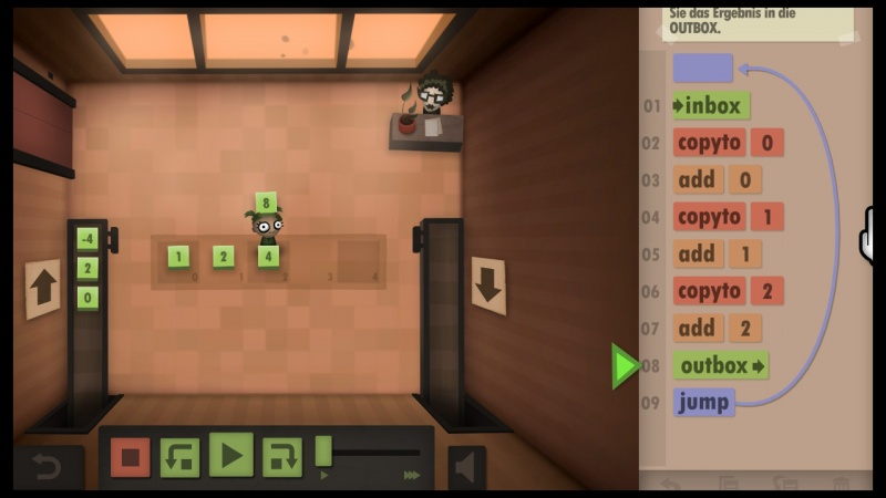 Human Resource Machine, Screenshot #7
