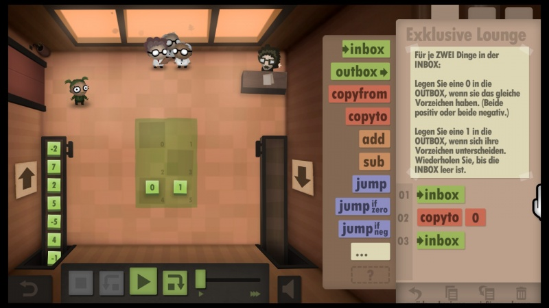 Human Resource Machine, Screenshot #9