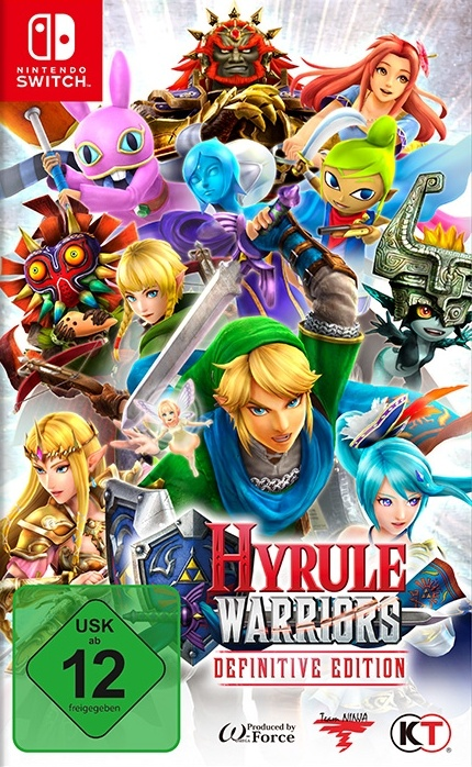 Hyrule Warriors: Definitive Edition, Covermotiv/Artwork
