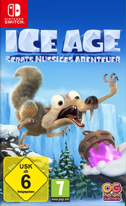 Ice Age - Scrats nussiges Abenteuer, Covermotiv/Artwork