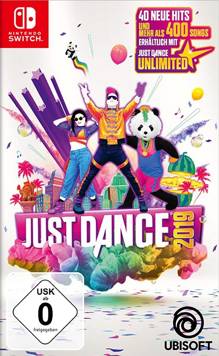 Just Dance 2019, Covermotiv/Artwork