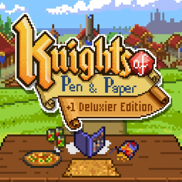 Knights of Pen & Paper +1 Deluxier Edition, Covermotiv/Artwork