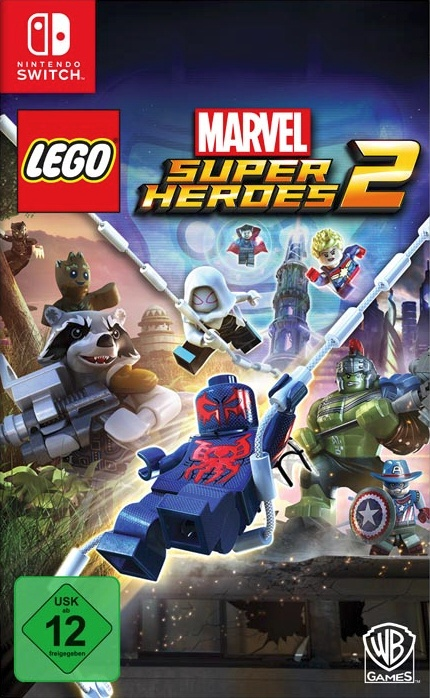 LEGO Marvel Super Heroes 2, Covermotiv/Artwork