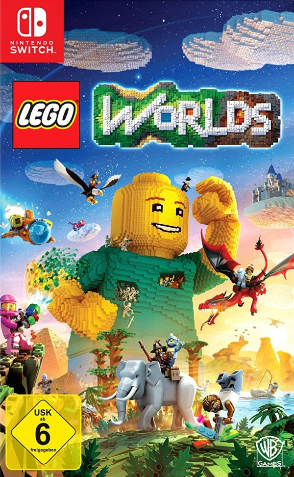 LEGO Worlds, Covermotiv/Artwork