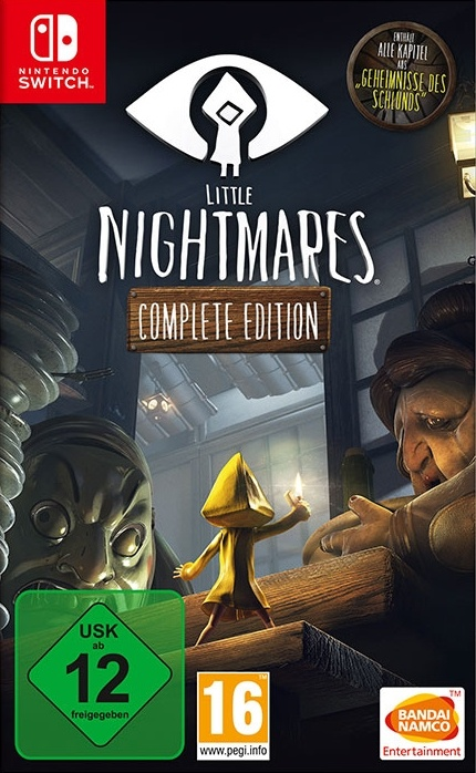 Little Nightmares: Complete Edition, Covermotiv/Artwork
