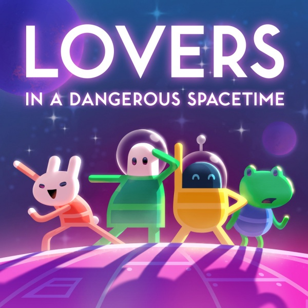 Lovers in a Dangerous Spacetime, Covermotiv/Artwork