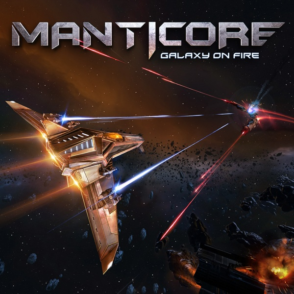 Manticore - Galaxy on Fire, Covermotiv