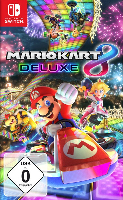 Mario Kart 8 Deluxe, Covermotiv/Artwork