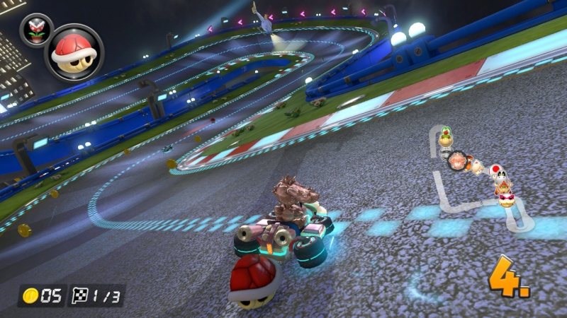 Mario Kart 8 Deluxe, Screenshot #1