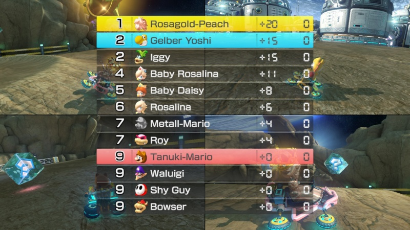 Mario Kart 8 Deluxe, Screenshot #5