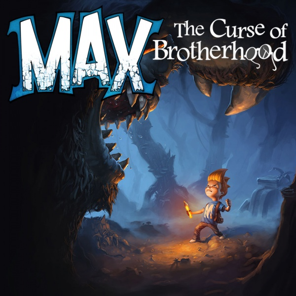 Max: The Curse of Brotherhood, Covermotiv/Artwork