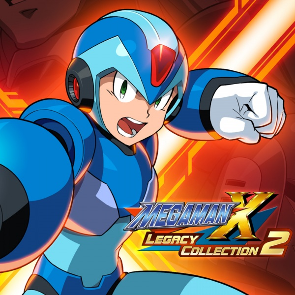Mega Man X Legacy Collection 2, Covermotiv