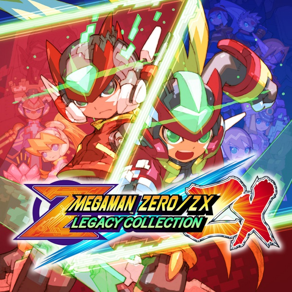 Mega Man Zero/ZX Legacy Collection, Covermotiv/Artwork