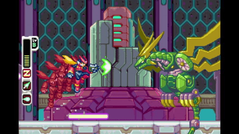 Mega Man Zero/ZX Legacy Collection, Screenshot #5