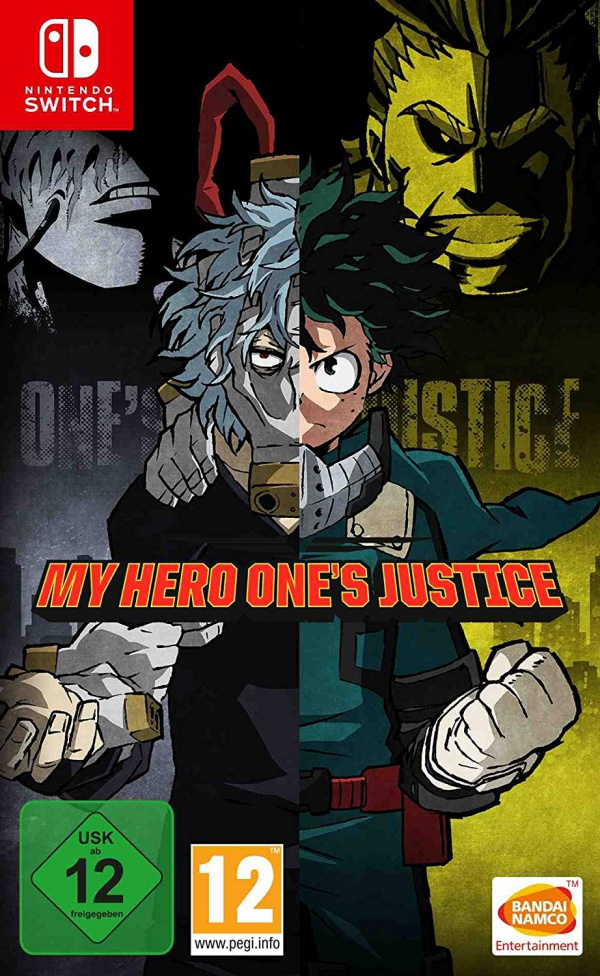 My Hero One's Justice, Covermotiv/Artwork