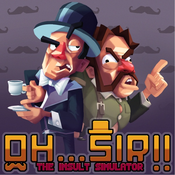 Oh...Sir!! The Insult Simulator, Covermotiv