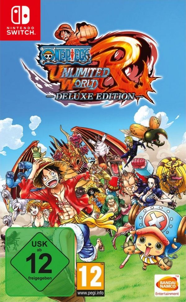 One Piece Unlimited World Red - Deluxe Edition, Covermotiv