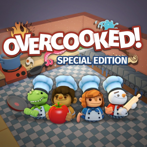 Overcooked! Special Edition, Covermotiv/Artwork