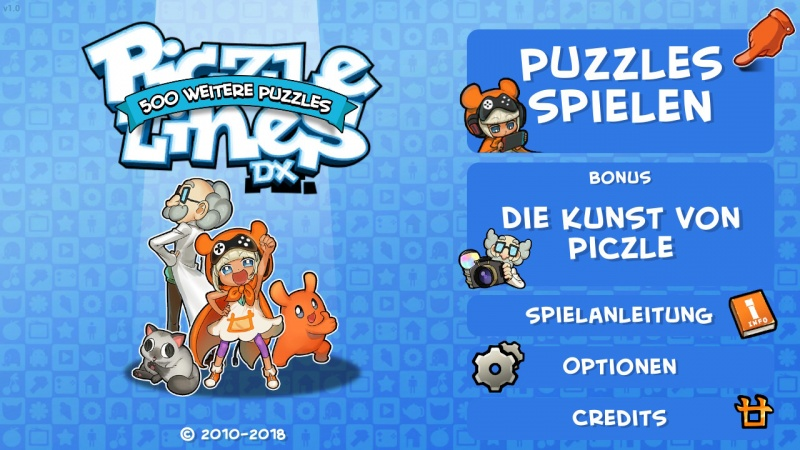 Piczle Lines DX - 500 weitere Puzzles!, Screenshot #1