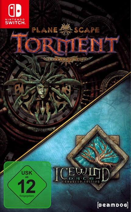 Planescape: Torment & Icewind Dale Enhanced Edition, Covermotiv/Artwork