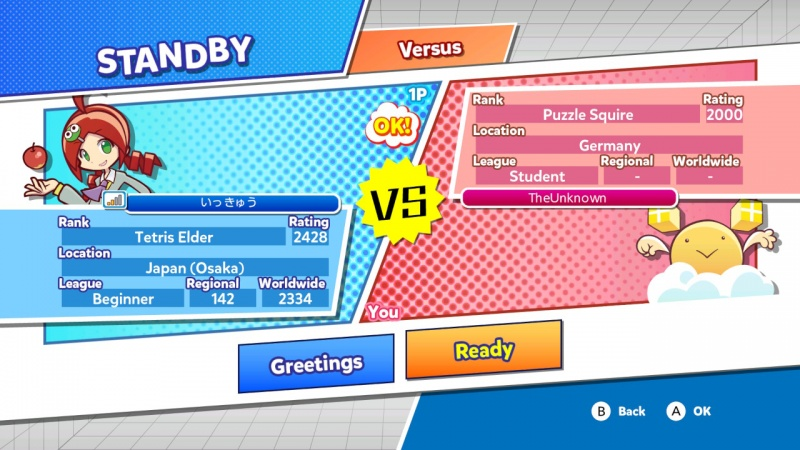 Puyo Puyo Tetris: Frantic Four-Player Puzzle Mashup!, Screenshot #2