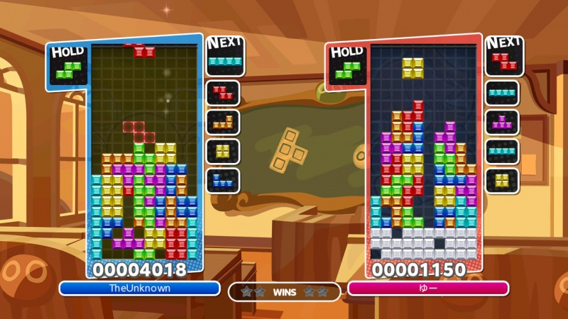Puyo Puyo Tetris: Frantic Four-Player Puzzle Mashup!, Screenshot #6
