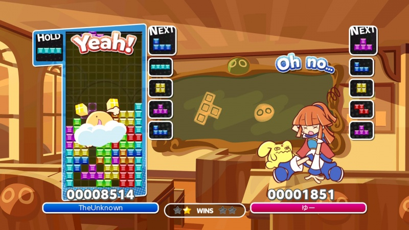 Puyo Puyo Tetris: Frantic Four-Player Puzzle Mashup!, Screenshot #7