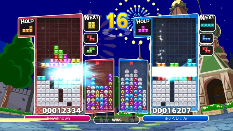 Puyo Puyo Tetris: Frantic Four-Player Puzzle Mashup!, Screenshot #8