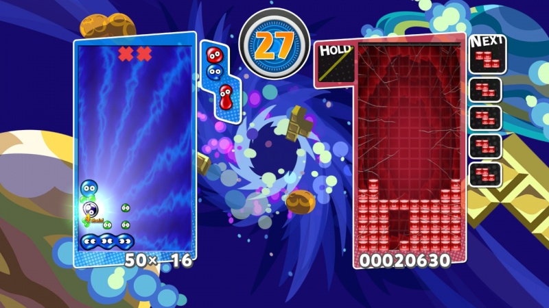 Puyo Puyo Tetris: Frantic Four-Player Puzzle Mashup!, Screenshot #17