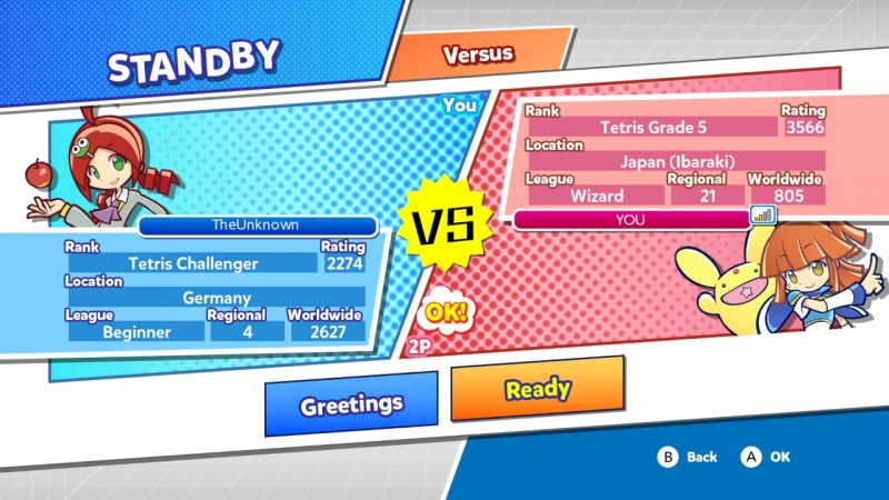 Puyo Puyo Tetris: Frantic Four-Player Puzzle Mashup!, Screenshot #19
