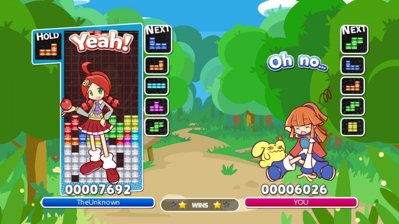 Puyo Puyo Tetris: Frantic Four-Player Puzzle Mashup!, Screenshot #20