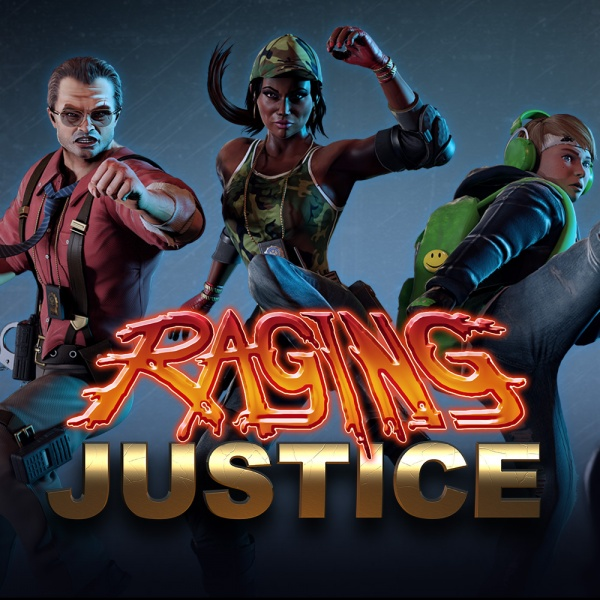 Raging Justice, Covermotiv