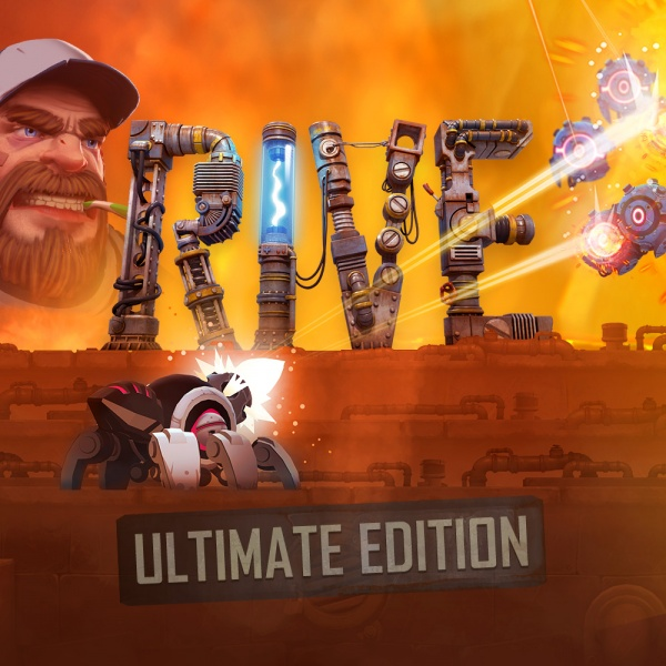 RIVE: Ultimate Edition, Covermotiv