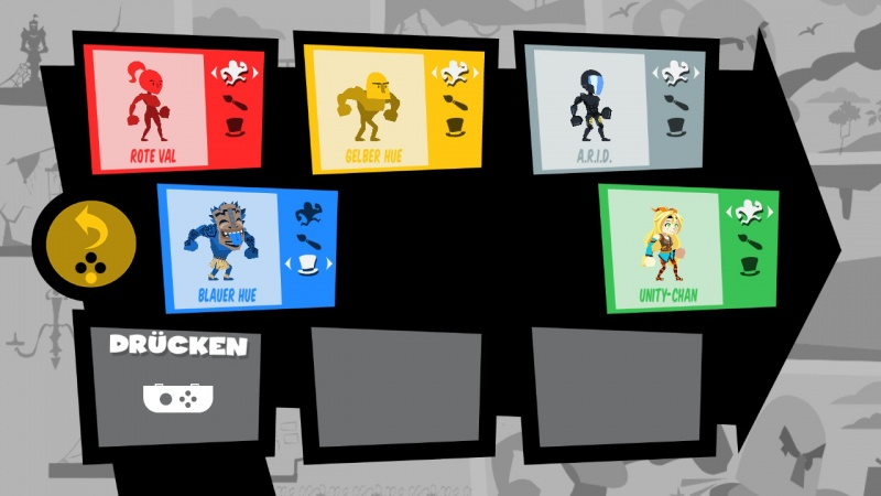 Runbow Deluxe Edition, Screenshot #1