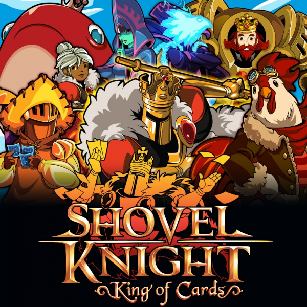 Shovel Knight: King of Cards, Covermotiv/Artwork