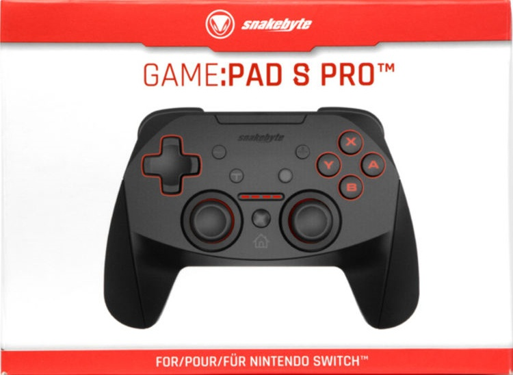Snakebyte GAME:PAD S & GAME:PAD S PRO, Covermotiv/Artwork