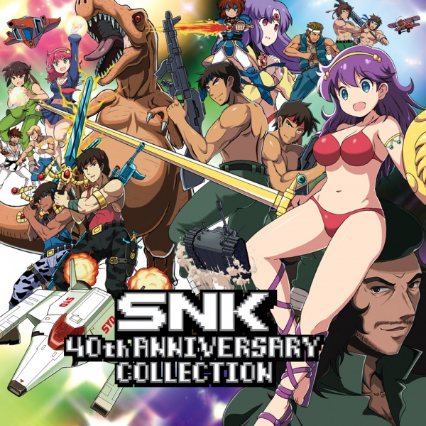 SNK 40th Anniversary Collection, Covermotiv/Artwork