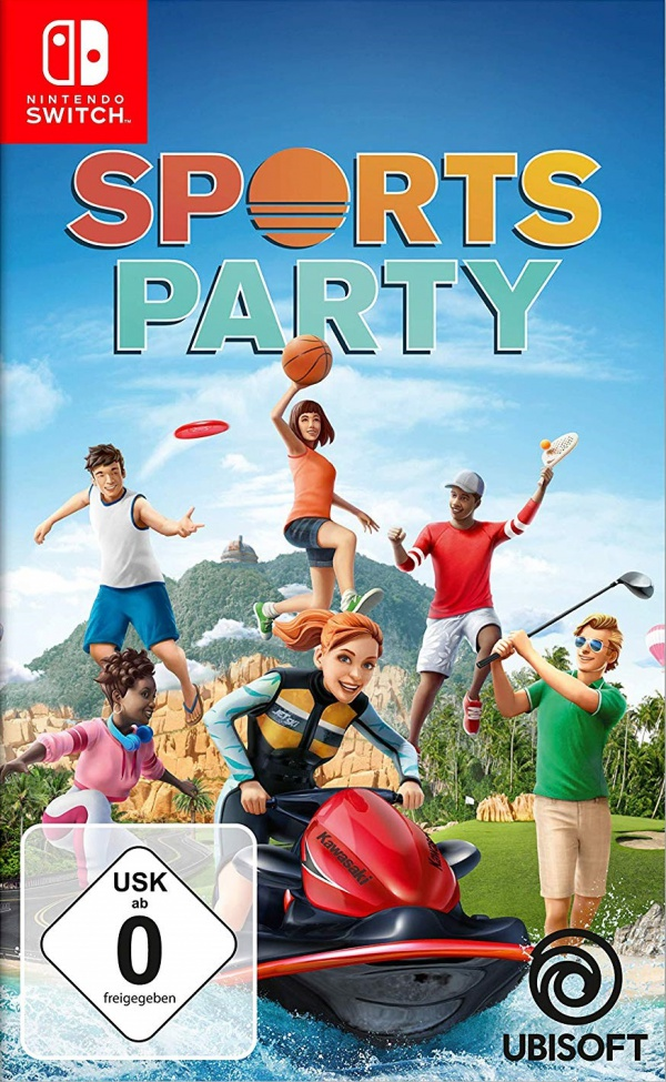 Sports Party, Covermotiv/Artwork