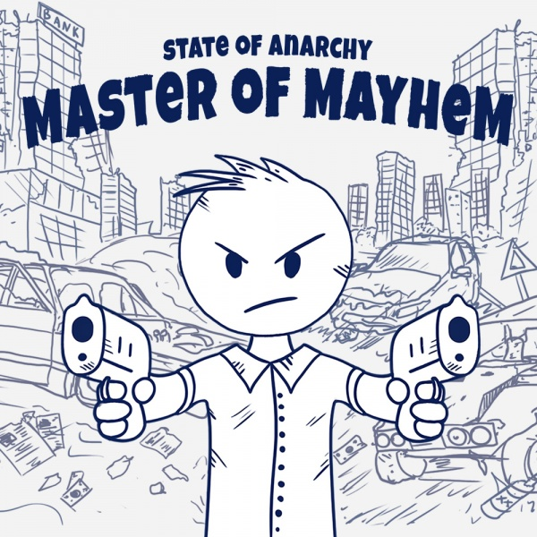 State of Anarchy: Master of Mayhem, Covermotiv/Artwork