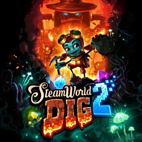 SteamWorld Dig 2, Covermotiv