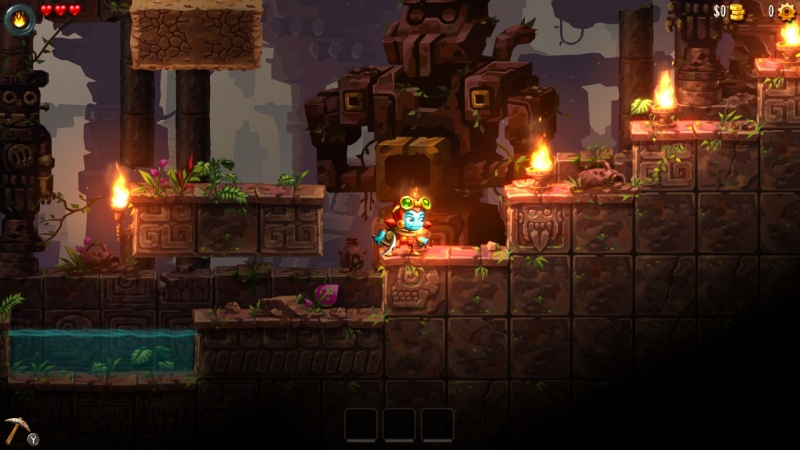 SteamWorld Dig 2, Screenshot #1