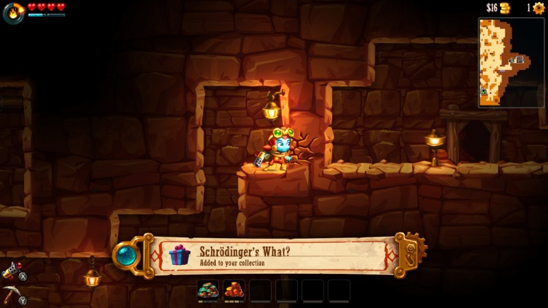 SteamWorld Dig 2, Screenshot #5