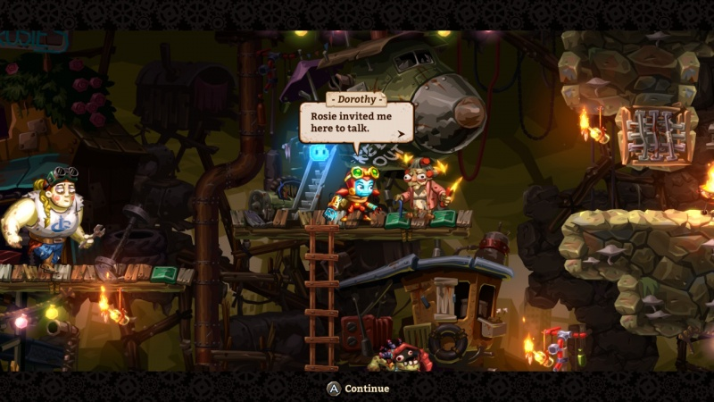 SteamWorld Dig 2, Screenshot #8