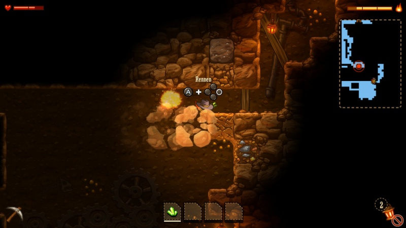 SteamWorld Dig - A Fistful of Dirt, Screenshot #4