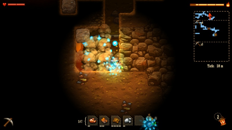 SteamWorld Dig - A Fistful of Dirt, Screenshot #5
